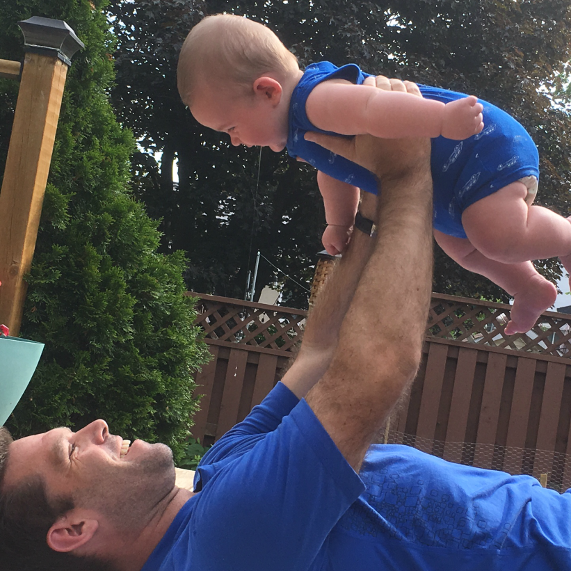 Dad and Baby Workouts