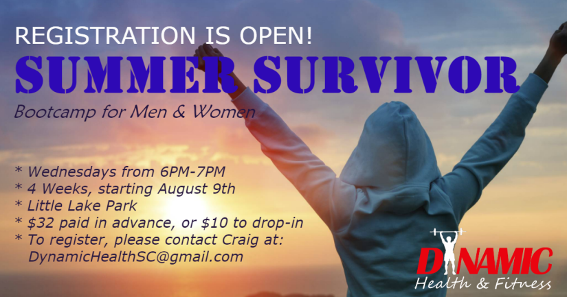 Registration Notice_Summer Survivor